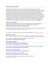 primary source analysis example Primary sources essays: over  primary school capers primary sources source of primary law review of an  primary sources - like a scholar, for example.