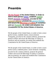 Premable of the Constituion.docx