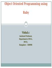 OOPs With Ruby.ppt