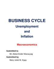 EGAY BUSINESS CYCLE