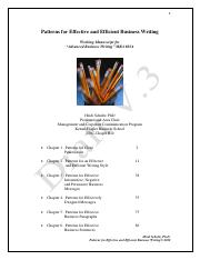 Patterns for Effective and Efficient Business Writing.pdf