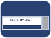 02 Making HR Strategic