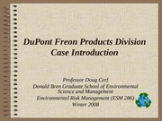 DuPont Introduction