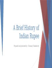 A Brief History of Indian Rupee.pptx