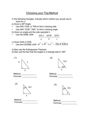 08 WS - Select your Trig method