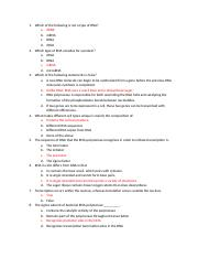 Cell biology unit 2 study guide