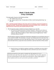Week 3 Study Guide editing.docx
