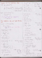 Chapter 5.5 The Substitution Rule, Symmetry, and Definite Integrals