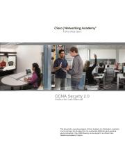 instructor lab manual pdf ccna security 2 0 instructor lab manual rh coursehero com Cisco Virtual Lab CCNA Home Lab
