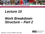 Lecture 10dm Work Breakdown Structure - Part 2(4)