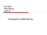 2web mining overview