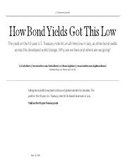 How Bond Yields Got This Low.pdf