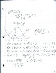 PreCalculus Math Notes 5