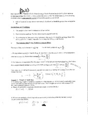 Chapter 11 Practice Problems & Examples