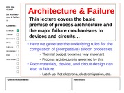 20 Architecture & failure.ppt