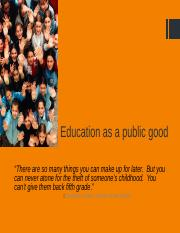 Lecture 13 Education as a public good.pptx