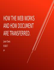 how the web works and how document are.pptx