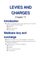 11 (Levies and charges)[1]