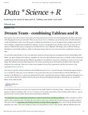 Dream Team - combining Tableau and R.pdf