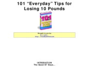 101_Everyday_Tips_To_Lose_Weight_Easy