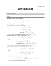 Chapter 8 Homework Solution
