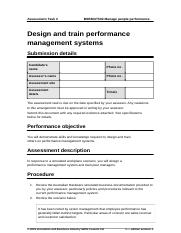 Assessment-Task-2 Design and train performance (Answer).doc