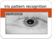 Iris pattern recognition