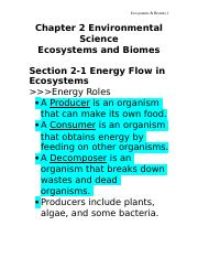 Chapter 2 Environmental Science.doc