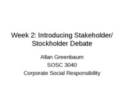 Week 2 Intro stock-stakeholder