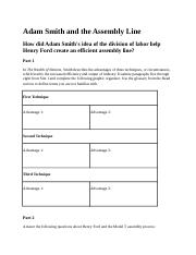 Adam Smith and the Assembly Line (1)