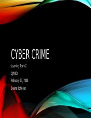 Cyber Crime Powerpoint_Learning Team A_Wk5