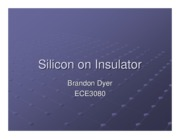 13-Brandon Dyer-Silicon on Insulator