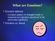 Emotions and Stress REVISED