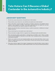 CASE 18 QUESTIONS TATA MOTORS