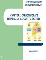 Chapter 2 Carbohydrate metabolism.ppt