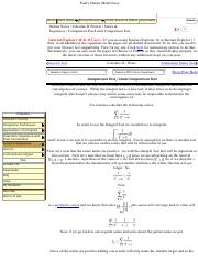 Pauls Online Notes Calculus Ii Sequences Paul S Online Math Notes Home Class Notes Extras Reviews Search Cheat Sheets Tables Downloads Online Course Hero Equations and math symbols are available in the rich content editor in canvas. course hero