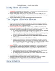 Textbook Chapter 4- Mobile New Media