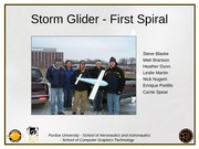 Storm Glider - Team #2 - First Sprial Presentation