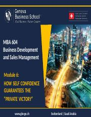 "160801_MBA_604_BDSM_Module_6_-How_Self_Confidence_Guarantees_The_""PRIVATE_VICTORY"""
