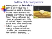 Lesson 6 (2nd law of Thermodynamics)