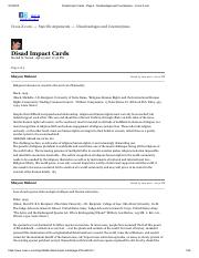 Disad Impact Cards - Page 2 - Disadvantages and Counterplans - Cross-X.com