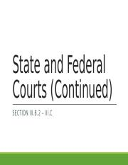 State and Federal Courts Continued.pptx