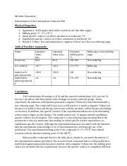 Chem 24 Qualitative Analysis Carbohydrate Unknown.docx