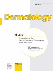 Acne - Symposium at the World Congress of Dermatology, Paris 2002