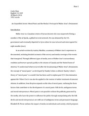 Research paper (Final Assignment)