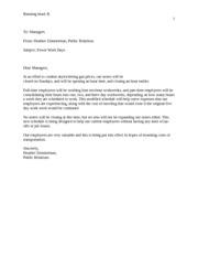 xcom 285 appendix d e mail etiquette Locker−kienzler: business and administrative communication, eighth edition back matter appendix a: formats for letters, memos, and e−mail messages.