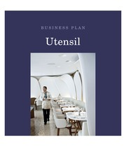 Utensil Cover Page - HF220
