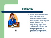 Cap3-The preterite - past tense
