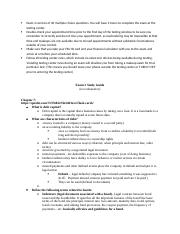 Exam 2 study guide & extra questions