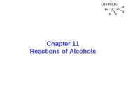 Chapter 11-Alcohol Reactions